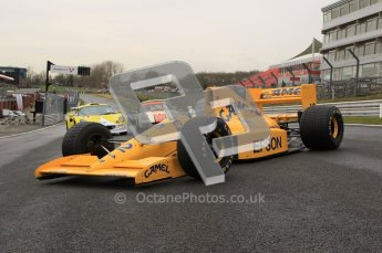 © Octane Photographic 2012. MSVR Media Day. Lotus 101 - Steve Griffith. Digital Ref : 0222lw1d0162