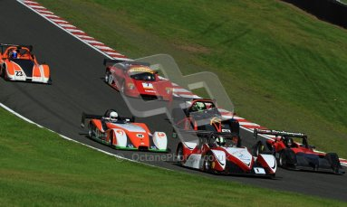 © Carl Jones/Octane Photographic Ltd. OSS Championship – Oulton Park. Saturday 1st September 2012. Race. The Start. Digital Ref :  0490CJ7D0930
