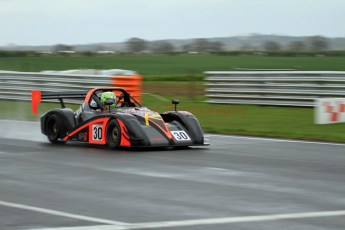 © Jones Photography. OSS Championship Round 1, Snetterton, 28th April 2012. Darcy Smith, Radical SR4. Digital Ref: 0390CJ7D0358