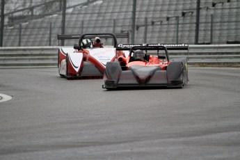 © Jones Photography. OSS Championship Round 2, Brands Hatch, 6th May 2012. Doug Hart, Chiron/Hart 2012 and Tony Sinclair Jade 3. Digital Ref: 0391CJ7D1960