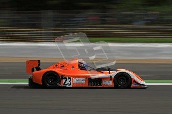 © Carl Jones/Octane Photographic Ltd. OSS Championship – Silverstone. Saturday 28th July 2012. Simon Tilling, Radical SR3