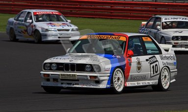 © Carl Jones / Octane Photographic Ltd. Silverstone Classic. Fujifilm Touring Car Trophy 1970-2000. 22nd July 2012. Mark Smith, BMW E30 M3. Digital Ref : 0415CJ7D1287