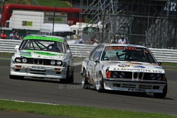© Carl Jones / Octane Photographic Ltd. Silverstone Classic. Fujifilm Touring Car Trophy 1970-2000. 22nd July 2012. Jody Halse, BMW 635. Digital Ref : 0415CJ7D1496