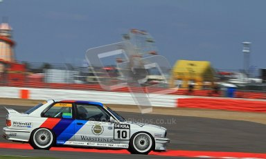 © Carl Jones / Octane Photographic Ltd. Silverstone Classic. Fujifilm Touring Car Trophy 1970-2000. 22nd July 2012. Mark Smith, BMW E30 M3. Digital Ref : 0415CJ7D1567