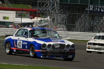 © Carl Jones / Octane Photographic Ltd. Silverstone Classic. Fujifilm Touring Car Trophy 1970-2000. 22nd July 2012. Paul Pochciol, Jaguar XJ12. Digital Ref : 0415CJ7D1723