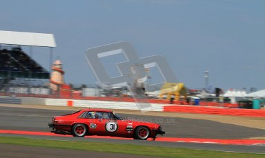 © Carl Jones / Octane Photographic Ltd. Silverstone Classic. Fujifilm Touring Car Trophy 1970-2000. 22nd July 2012. Richard Masters, Jaguar XJS.Digital Ref : 0415CJ7D1939
