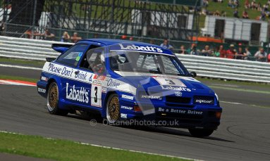 © Carl Jones / Octane Photographic Ltd. Silverstone Classic. Fujifilm Touring Car Trophy 1970-2000. 22nd July 2012. Paul Smith, Ford RS500. Digital Ref : 0415CJ7D2017