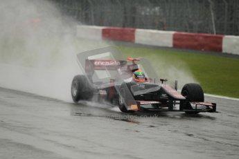 © 2012 Octane Photographic Ltd. British GP Silverstone - Friday 6th July 2012 - GP2 Practice - Venezuela GP Lazarus - Fabrizio Crestani. Digital Ref : 0398lw1d2433