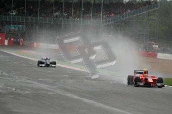 © 2012 Octane Photographic Ltd. British GP Silverstone - Friday 6th July 2012 - GP2 Qualifying - Carlin - Rio Haryanto. Digital Ref : 0399lw1d2848