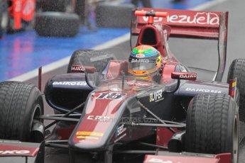 © 2012 Octane Photographic Ltd. British GP Silverstone - Friday 6th July 2012 - GP2 Qualifying - Venezuela GP Lazarus - Fabrizio Crestani. Digital Ref : 0399lw1d3102