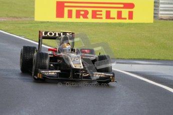 © 2012 Octane Photographic Ltd. British GP Silverstone - Friday 6th July 2012 - GP2 Practice - Lotus GP - Esteban Gutierrez. Digital Ref : 0400lw7d6513