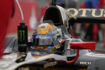 © 2012 Octane Photographic Ltd. British GP Silverstone - Sunday 8th July 2012 - GP2 Race 2 - Lotus GP - Esteban Gutierrez. Digital Ref : 0401lw7d6825