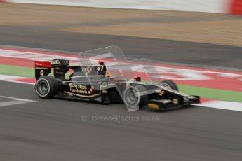 © 2012 Octane Photographic Ltd. British GP Silverstone - Sunday 8th July 2012 - GP2 Race 2 - Lotus GP - James Calado. Digital Ref : 0401lw7d7376