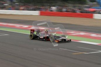 © 2012 Octane Photographic Ltd. British GP Silverstone - Sunday 8th July 2012 - GP2 Race 2 - Venezuela GP Lazarus - Giancarlo Serenelli. Digital Ref : 0401lw7d7411