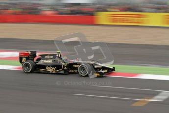 © 2012 Octane Photographic Ltd. British GP Silverstone - Sunday 8th July 2012 - GP2 Race 2 - Lotus GP - Esteban Gutierrez. Digital Ref : 0401lw7d7423