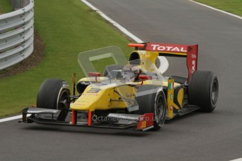 © 2012 Octane Photographic Ltd. British GP Silverstone - Sunday 8th July 2012 - GP2 Race 2 - Dams - Davide Valsecchi. Digital Ref : 0401lw7d7523