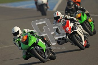 © Octane Photographic Ltd. Thundersport – Donington Park -  24th March 2012. RLRmotorsports.com 600 Sportsman Elite, Andrew Dudgeon, Sam Thompson and Michael Golden. Digital ref : 0260cb7d3443