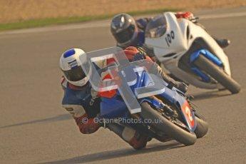 © Octane Photographic Ltd. Thundersport – Donington Park - 24th March 2012. RLRmotorsports.com 600 Sportsman Elite, Oliver Dupuy and Connor Tagg. Digital ref : 0260cb7d3549