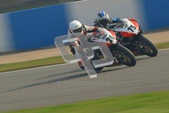 © Octane Photographic Ltd. Thundersport – Donington Park - 24th March 2012. Aprillia RRV450GP Challenge, Tom Oliver and Bradley Jones. Digital ref : 0259cb7d3298