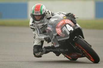 © Octane Photographic Ltd. Thundersport – Donington Park - 24th March 2012. Aprillia Superteens, Joe Thompson. Digital ref : 0252cb7d1568