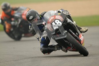 © Octane Photographic Ltd. Thundersport – Donington Park - 24th March 2012. Aprillia Superteens, Hamish Adamski. Digital ref : 0252cb7d1627