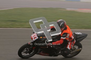 © Octane Photographic Ltd. Thundersport – Donington Park - 24th March 2012. Aprillia Superteens, Aiden Walker. Digital ref : 0252lw7d0114