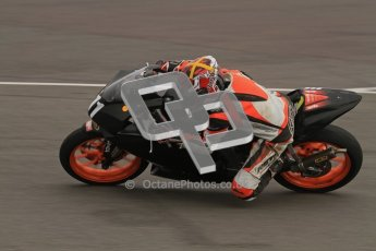 © Octane Photographic Ltd. Thundersport – Donington Park - 24th March 2012. Aprillia Superteens, Sam Smith. Digital ref : 0252lw7d0177