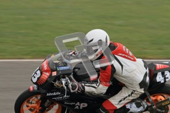 © Octane Photographic Ltd. Thundersport – Donington Park - 24th March 2012. Aprillia Superteens, Alex Patt. Digital ref : 0252lw7d0275