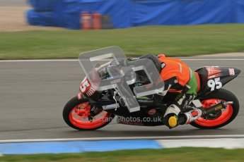 © Octane Photographic Ltd. Thundersport – Donington Park - 24th March 2012. Aprillia Superteens, Ross Simpson. Digital ref : 0252lw7d0341