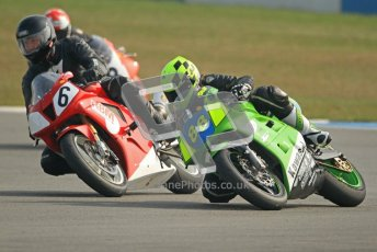 © Octane Photographic Ltd. Thundersport – Donington Park -  24th March 2012. RST Motorcycle Clothing Golden Era Superbikes, Josh Daley and Nick Williamson. Digital ref : 0257cb7d2821