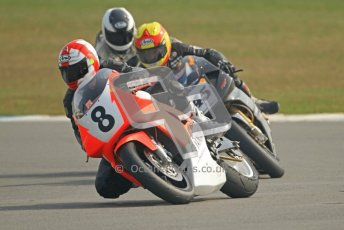 © Octane Photographic Ltd. Thundersport – Donington Park -  24th March 2012. RST Motorcycle Clothing Golden Era Superbikes, Dave Harnett and Iam Simpson. Digital ref : 0257cb7d2823