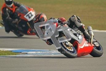 © Octane Photographic Ltd. Thundersport – Donington Park -  24th March 2012. RST Motorcycle Clothing Golden Era Superbikes, Charlie Flett and Lee Reveley. Digital ref : 0257cb7d2837
