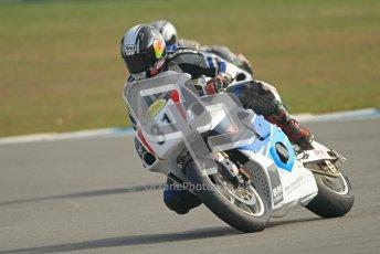 © Octane Photographic Ltd. Thundersport – Donington Park -  24th March 2012. RST Motorcycle Clothing Golden Era Superbikes, Ed Godfrey. Digital ref : 0257cb7d2842