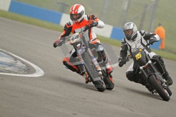 © Octane Photographic Ltd. Thundersport – Donington Park - 24th March 2012. HEL Performance Streetfighters, Brad Davey and Keith Warren. Digital ref : 0253cb7d1711