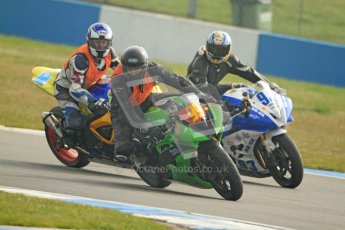 © Octane Photographic Ltd. Thundersport – Donington Park -  24th March 2012. HMT Racing Pre-National Sport 600, Stephen Kaplan and Ben Neary. Digital ref : 0255cb7d2237