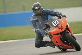 © Octane Photographic Ltd. Thundersport – Donington Park - 24th March 2012. Doodson Motorsport Supertwins & F400, Tony Rainford. Digital ref : 0254cb7d1857