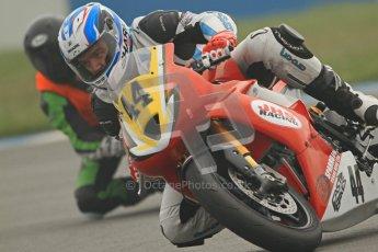 © Octane Photographic Ltd. Thundersport – Donington Park - 24th March 2012. Doodson Motorsport Supertwins & F400, Alastair Fagan. Digital ref : 0254cb7d1877