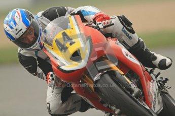 © Octane Photographic Ltd. Thundersport – Donington Park - 24th March 2012. Doodson Motorsport Supertwins & F400, Alastair Fagan. Digital ref : 0254cb7d1931