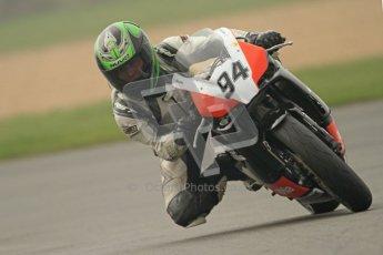 © Octane Photographic Ltd. Thundersport – Donington Park - 24th March 2012. Doodson Motorsport Supertwins & F400, Jamie Thackeray. Digital ref : 0254cb7d1938