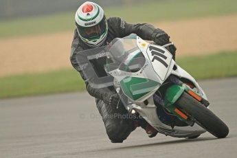 © Octane Photographic Ltd. Thundersport – Donington Park - 24th March 2012. Doodson Motorsport Supertwins & F400, Gary henrickson. Digital ref : 0254cb7d1952
