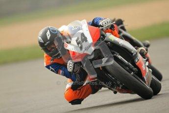 © Octane Photographic Ltd. Thundersport – Donington Park - 24th March 2012. Doodson Motorsport Supertwins & F400, Sam Cox. Digital ref : 0254cb7d2010