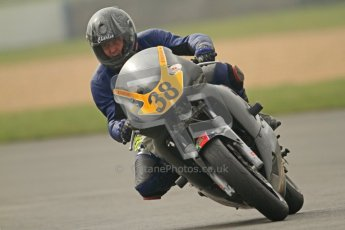 © Octane Photographic Ltd. Thundersport – Donington Park - 24th March 2012. Doodson Motorsport Supertwins & F400, Anthony Burke. Digital ref : 0254cb7d2069