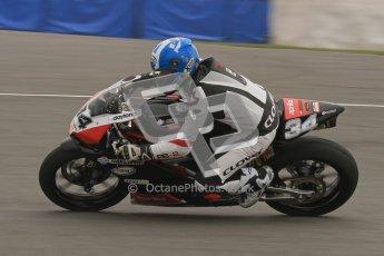 © Octane Photographic Ltd. Thundersport – Donington Park - 24th March 2012. Doodson Motorsport Supertwins & F400, Louise Dawson. Digital ref : 0254lw7d0913