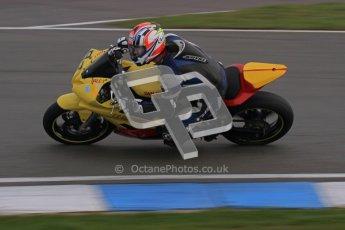 © Octane Photographic Ltd. Thundersport – Donington Park - 24th March 2012. Doodson Motorsport Supertwins & F400, Dale Thomas. Digital ref : 0254lw7d1239
