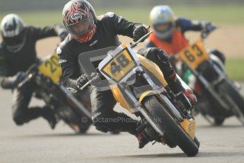 © Octane Photographic Ltd. Thundersport – Donington Park - 24th March 2012. Bridgestone Thundersport 500, Allan Brookbanks, David Beswick and Martin Baron. Digital ref : 0256cb7d2566