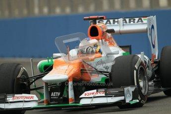 © 2012 Octane Photographic Ltd. European GP Valencia - Friday 22nd June 2012 - F1 Practice 1. Force India VJM05 - Paul di Resta. Digital Ref : 0367lw1d2859
