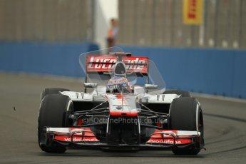 © 2012 Octane Photographic Ltd. European GP Valencia - Friday 22nd June 2012 - F1 Practice 1. McLaren MP4/27 - Jenson Button. Digital Ref : 0367lw1d3085