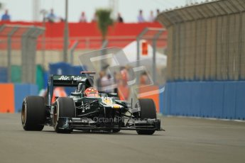© 2012 Octane Photographic Ltd. European GP Valencia - Friday 22nd June 2012 - F1 Practice 1. Caterham CT01 - Heikki Kovalainen. Digital Ref : 0367lw1d3096