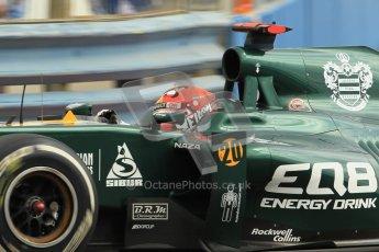 © 2012 Octane Photographic Ltd. European GP Valencia - Friday 22nd June 2012 - F1 Practice 1. Caterham CT01 - Heikki Kovalainen. Digital Ref : 0367lw1d3174