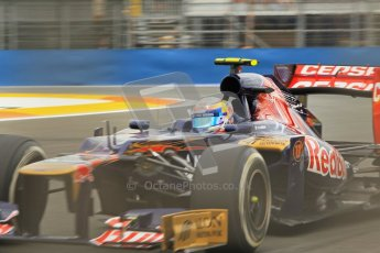 © 2012 Octane Photographic Ltd. European GP Valencia - Friday 22nd June 2012 - F1 Practice 1. Toro Rosso STR7 - Jean-Eric Vergne. Digital Ref : 0367lw1d3366